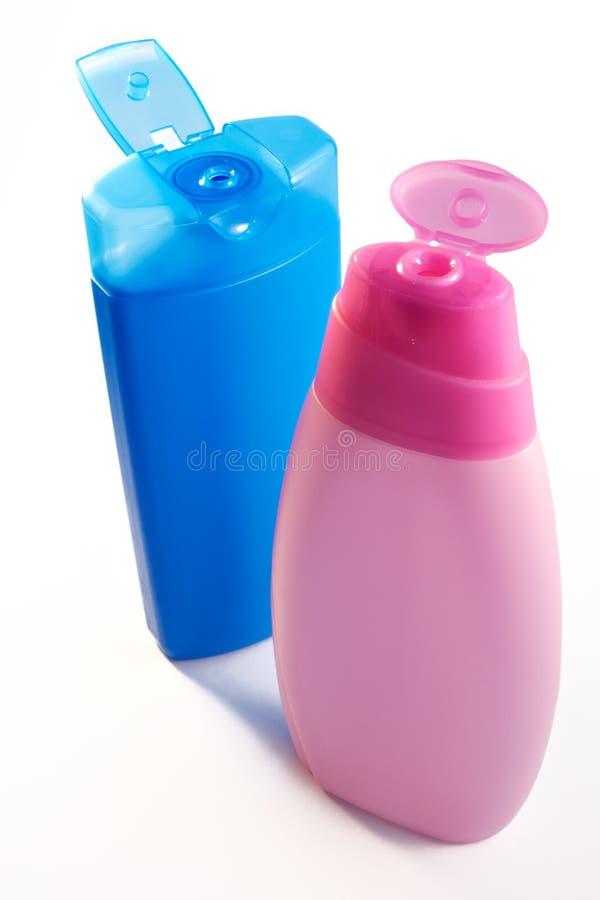 σαμπουάν μπουκαλιών στοκ εικόνα με δικαίωμα ελεύθερης χρήσης