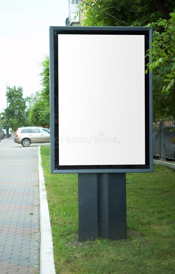 σανίδωμα πόλεων διαφημίσεων στοκ φωτογραφία με δικαίωμα ελεύθερης χρήσης