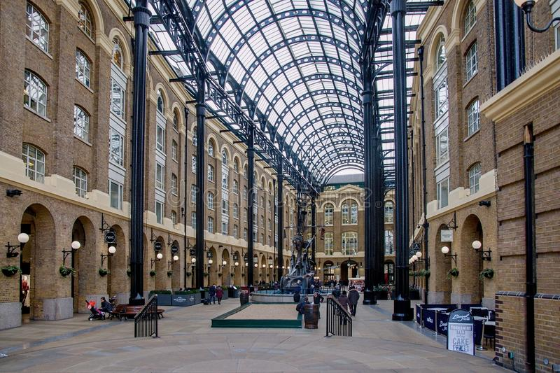 Σανοί Galleria στο Λονδίνο UK στοκ εικόνες με δικαίωμα ελεύθερης χρήσης