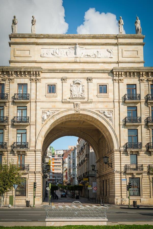 Σαντάντερ, Ισπανία στοκ φωτογραφία με δικαίωμα ελεύθερης χρήσης