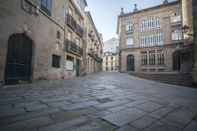 Σαντιάγο de Compostela, Γαλικία, Ισπανία στοκ φωτογραφία