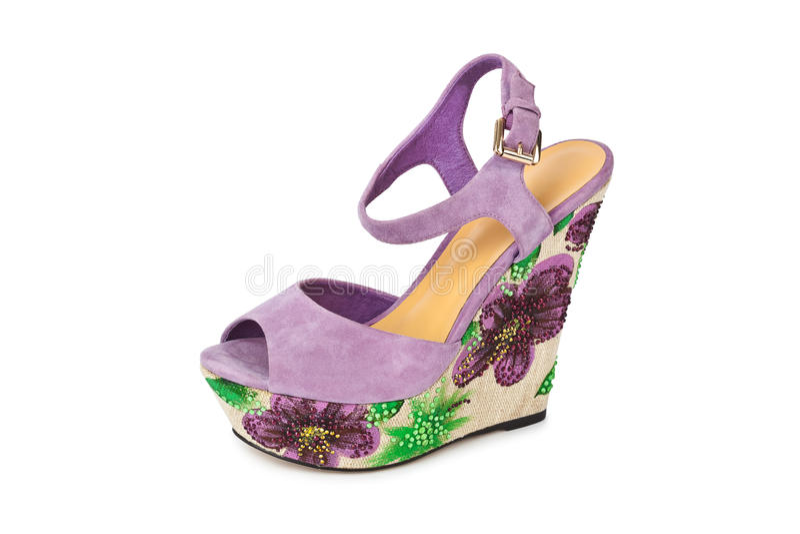 Σανδάλι παπουτσιών γυναίκας στοκ φωτογραφία με δικαίωμα ελεύθερης χρήσης
