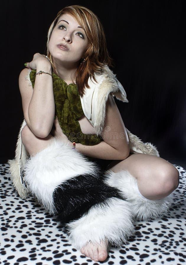Σαν αλλιγάτορας κορίτσι στοκ φωτογραφίες με δικαίωμα ελεύθερης χρήσης