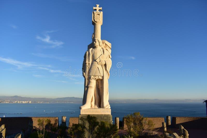 Σαν Ντιέγκο, Καλιφόρνια - ΗΠΑ - 4 Δεκεμβρίου 2016: Cabrillo Statu στοκ εικόνες με δικαίωμα ελεύθερης χρήσης