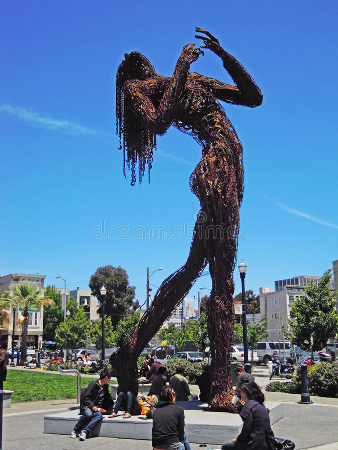 Σαν Φρανσίσκο, Καλιφόρνια, Ηνωμένες Πολιτείες της Αμερικής, ΗΠΑ στοκ εικόνα με δικαίωμα ελεύθερης χρήσης