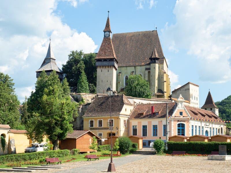Σαξονική ενισχυμένη εκκλησία Biertan, Ρουμανία στοκ φωτογραφίες με δικαίωμα ελεύθερης χρήσης