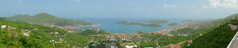 Σαρλόττα Amalie, νησί Αγίου Thomas, αμερικανικοί Παρθένοι Νήσοι στοκ φωτογραφίες με δικαίωμα ελεύθερης χρήσης