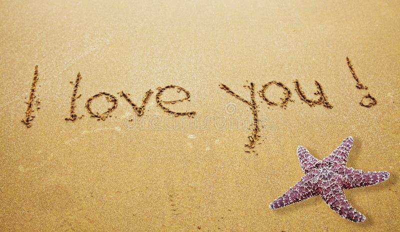 σας αγαπώ στοκ εικόνα