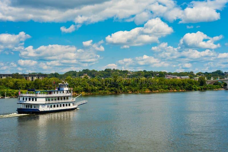 Σατανούγκα riverboat η νότια Belle στοκ φωτογραφία