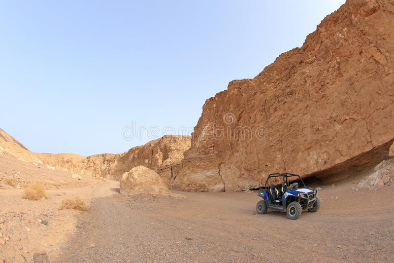 Σαφάρι ερήμων σε Marsa Alam στοκ φωτογραφία