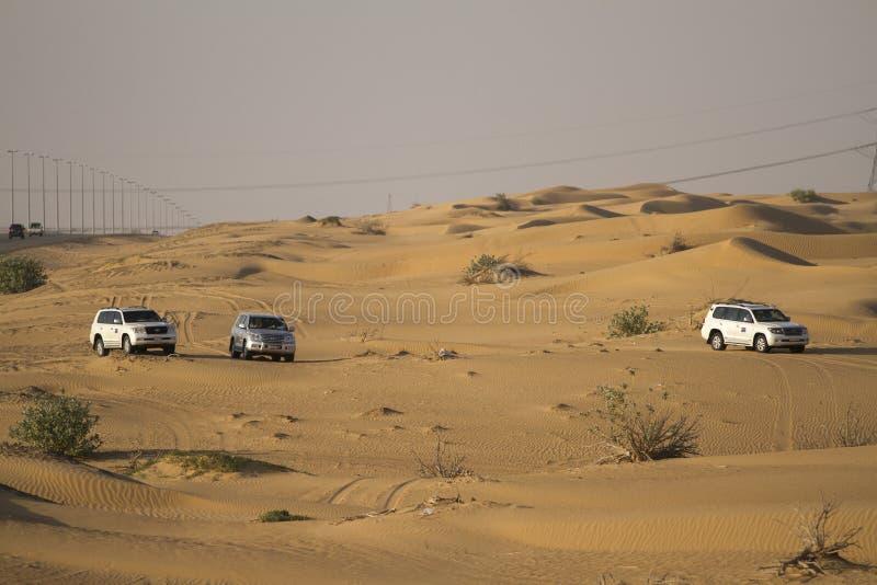 Σαφάρι ερήμων στο Ντουμπάι στοκ εικόνα
