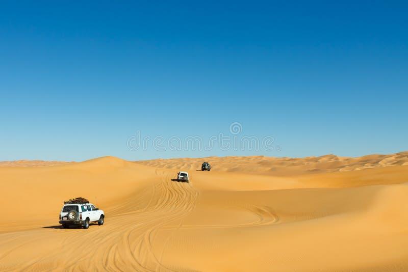 σαφάρι Σαχάρα ερήμων στοκ εικόνες
