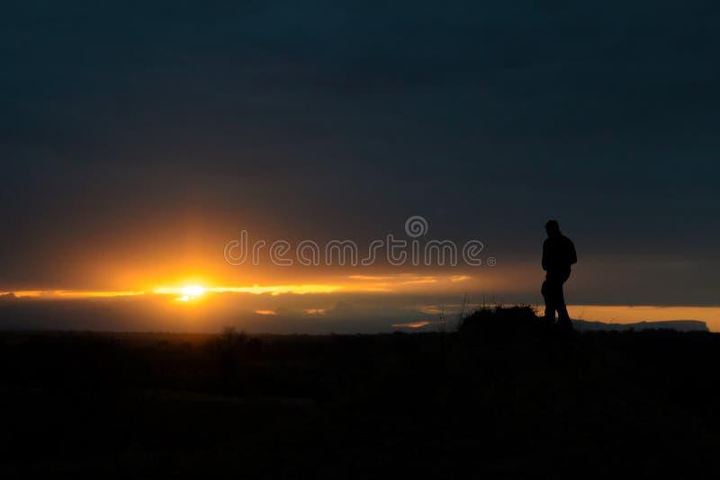 Σαφάρι Sunsets στοκ φωτογραφία με δικαίωμα ελεύθερης χρήσης
