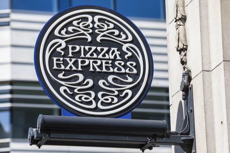 Σαφές εστιατόριο πιτσών στοκ εικόνες