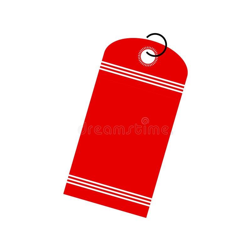 σαφές διάνυσμα ετικεττών πώλησης κορδελλών απεικόνισης κόκκινο στοκ φωτογραφία