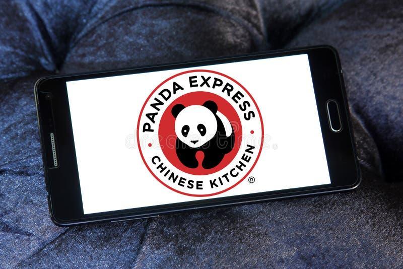 Σαφές λογότυπο αλυσίδων εστιατορίων της Panda στοκ φωτογραφία με δικαίωμα ελεύθερης χρήσης