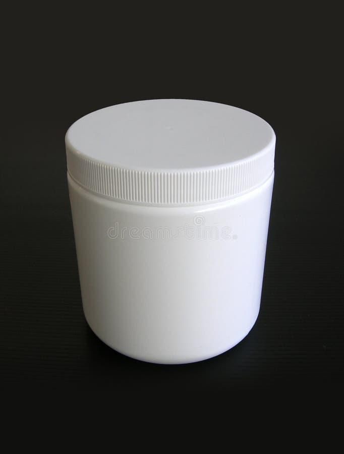 σαφές πλαστικό λευκό εμπ&om στοκ εικόνες με δικαίωμα ελεύθερης χρήσης