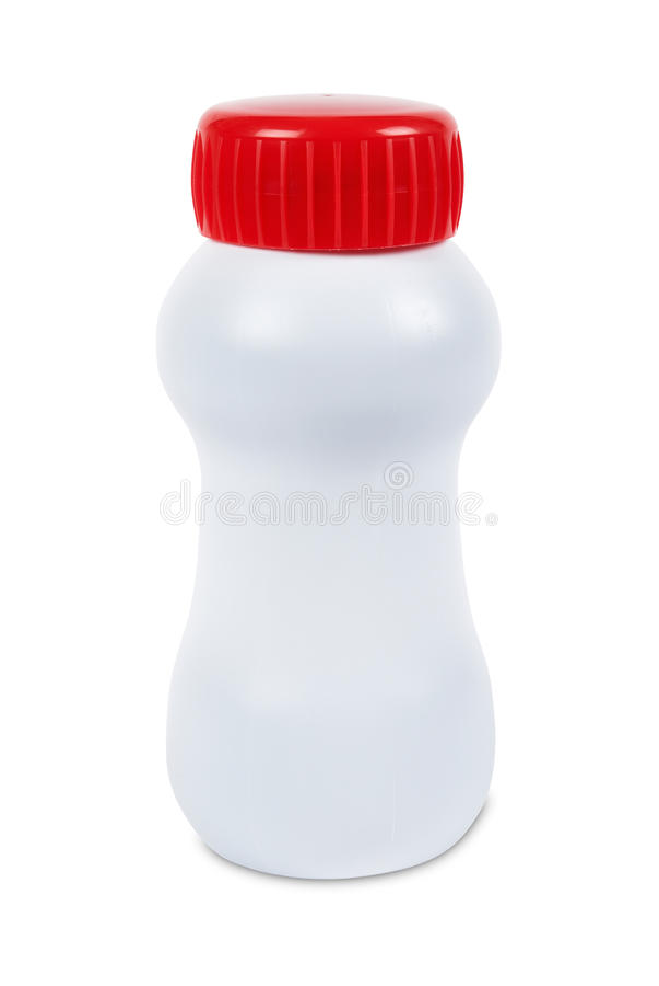 Σαφές πλαστικό μπουκάλι στοκ φωτογραφίες με δικαίωμα ελεύθερης χρήσης