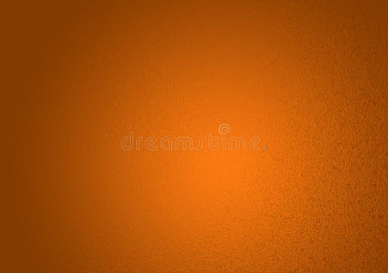 Σαφές πορτοκαλί κατασκευασμένο υπόβαθρο κλίσης στοκ εικόνα με δικαίωμα ελεύθερης χρήσης