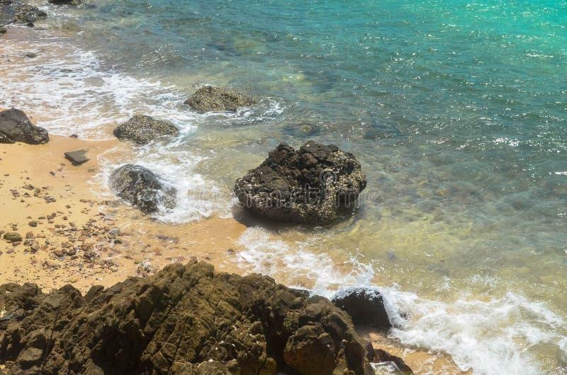 Σαφές υπόβαθρο σύστασης επιφάνειας θαλάσσιου νερού στοκ εικόνες