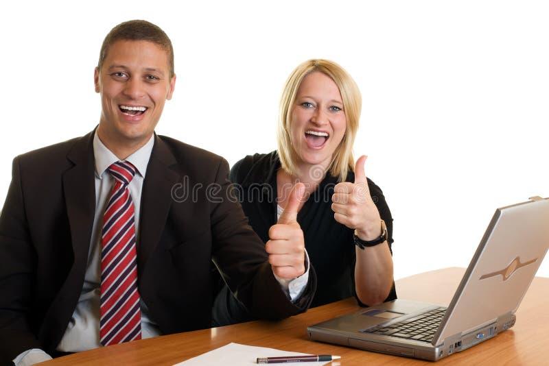 σαφής επιτυχία επιχειρηματιών επιχειρηματιών στοκ φωτογραφία με δικαίωμα ελεύθερης χρήσης