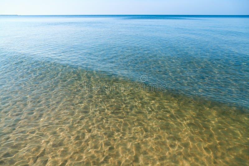 Σαφής θάλασσα… στοκ εικόνες με δικαίωμα ελεύθερης χρήσης