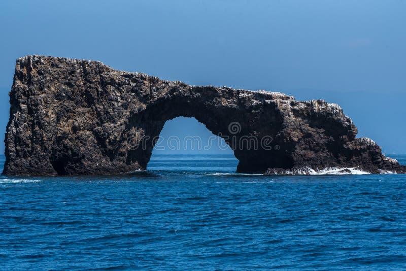 Σαφής θερινή ημέρα στο εθνικό πάρκο νησιών καναλιών στοκ εικόνες με δικαίωμα ελεύθερης χρήσης