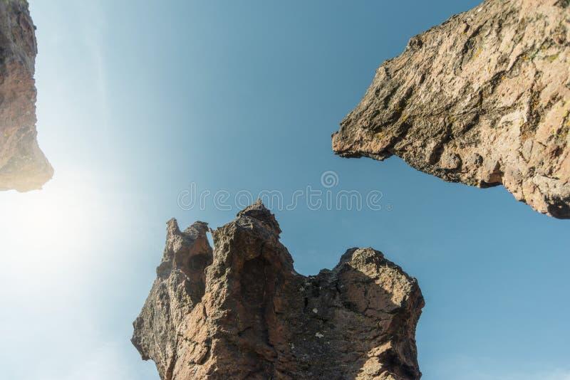 Σαφής ουρανός στοκ φωτογραφίες με δικαίωμα ελεύθερης χρήσης