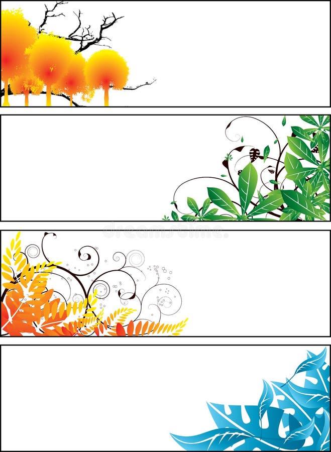 σαφής floral ζωνών ελεύθερη απεικόνιση δικαιώματος