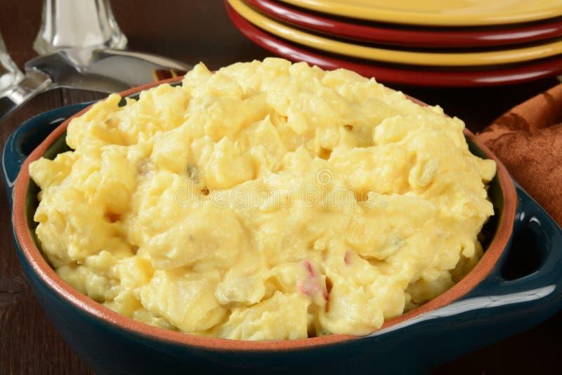 Σαλάτα πατατών μουστάρδας στοκ φωτογραφίες με δικαίωμα ελεύθερης χρήσης