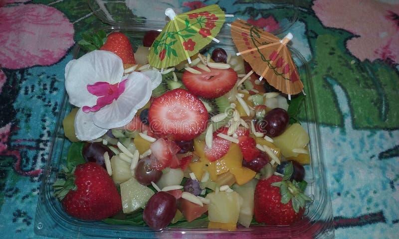 Σαλάτα σπανακιού στοκ εικόνες