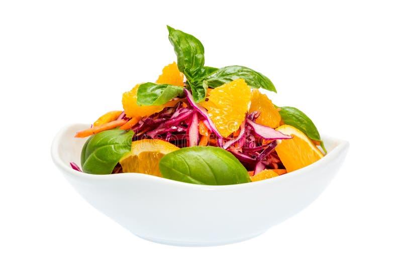 Σαλάτα του κόκκινου λάχανου στοκ εικόνες