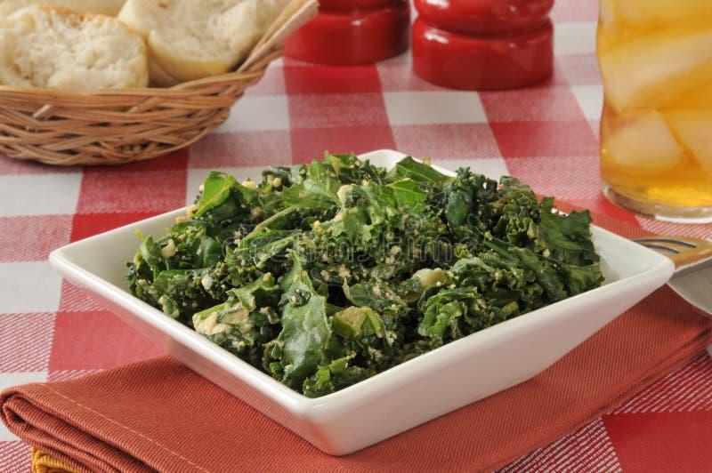 Σαλάτα του Kale στοκ φωτογραφία με δικαίωμα ελεύθερης χρήσης