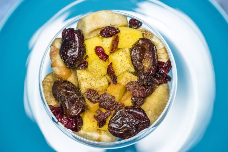 Σαλάτα φρούτων Vegan στοκ εικόνα με δικαίωμα ελεύθερης χρήσης