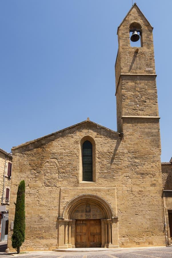 Σαλόνι-de-Προβηγκία (Γαλλία): ιστορική εκκλησία στοκ εικόνες