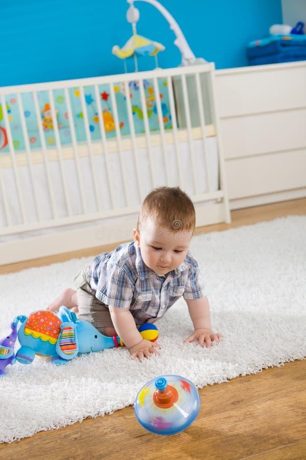 σβούρα μωρών στοκ φωτογραφία με δικαίωμα ελεύθερης χρήσης