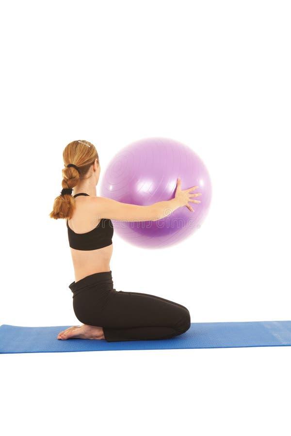 σειρά άσκησης pilates στοκ φωτογραφίες με δικαίωμα ελεύθερης χρήσης