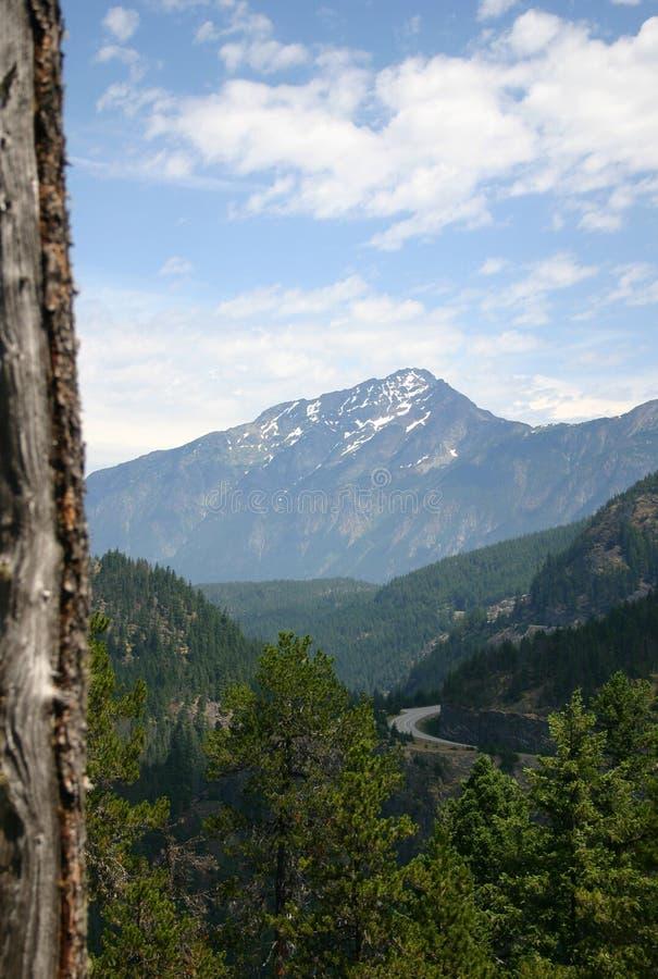 σειρά βουνών στοκ εικόνα