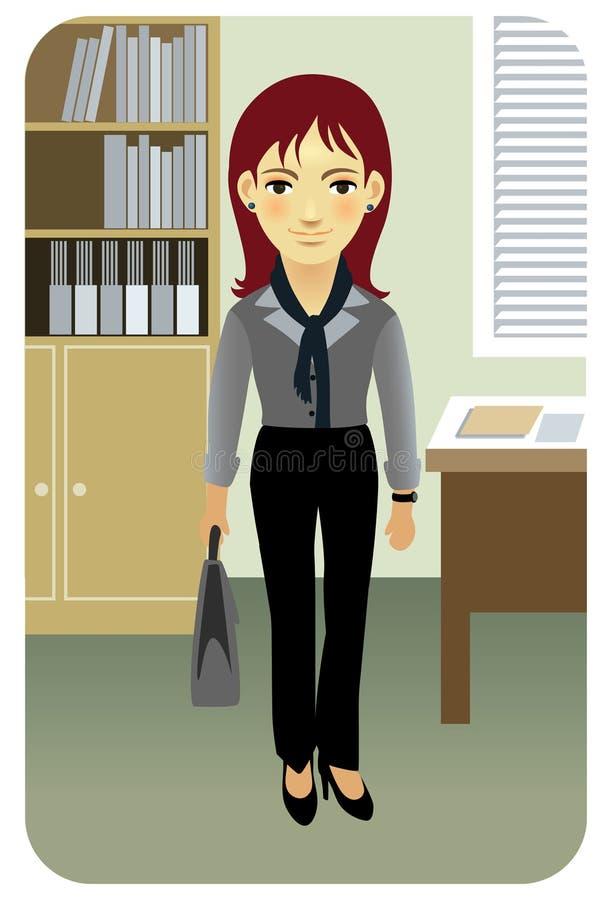 σειρά γραμματέων επαγγέλμ&a διανυσματική απεικόνιση