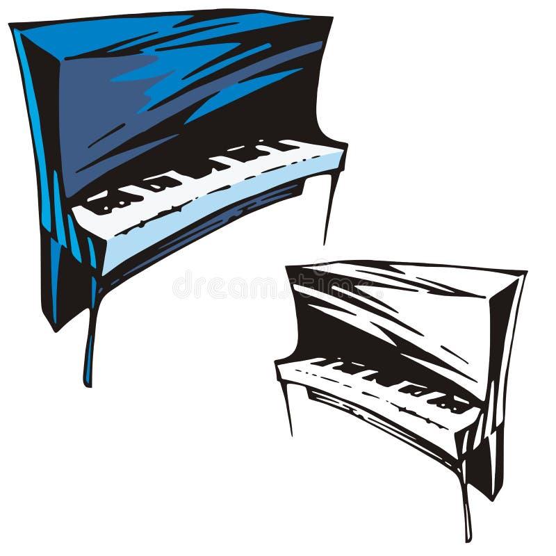 σειρά μουσικής οργάνων διανυσματική απεικόνιση