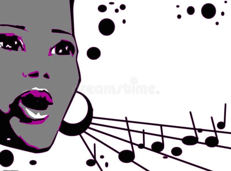σειρά μουσικής τζαζ απεικόνιση αποθεμάτων