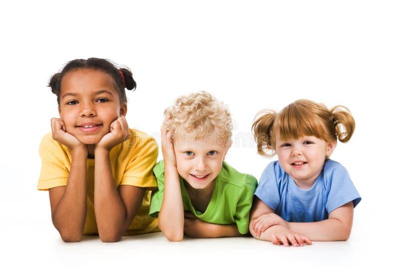 σειρά παιδιών στοκ φωτογραφία