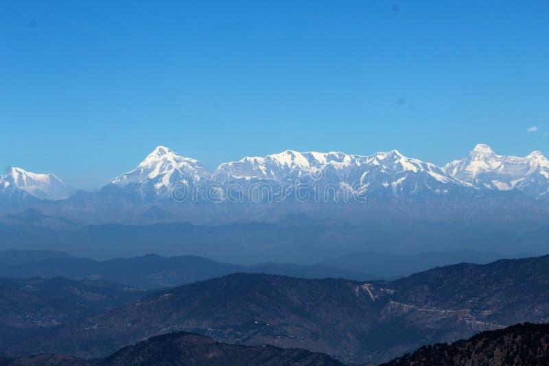 Σειρές βουνών Himalayan στοκ εικόνα