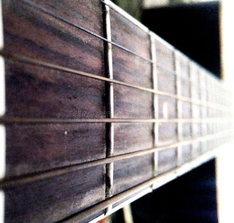 Σειρές κιθάρων στοκ φωτογραφία με δικαίωμα ελεύθερης χρήσης