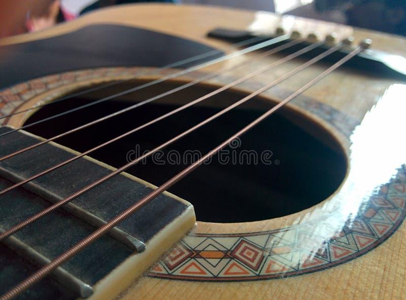 Σειρές κιθάρων στοκ εικόνες με δικαίωμα ελεύθερης χρήσης