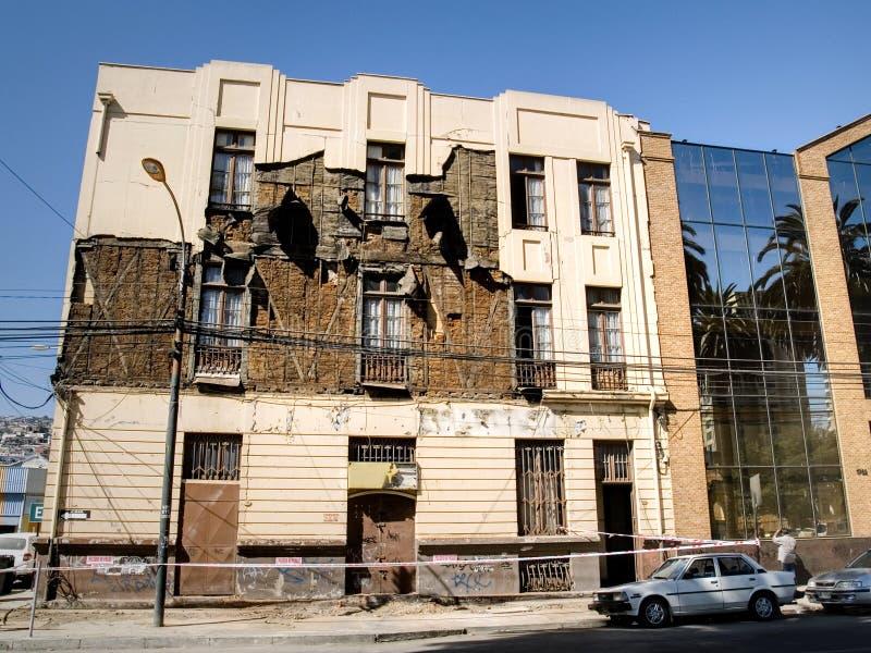 σεισμός της Χιλής του 2010 στοκ εικόνα με δικαίωμα ελεύθερης χρήσης