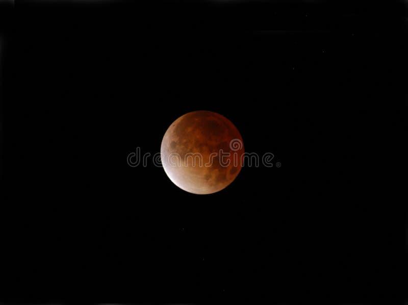 σεληνιακό σύνολο έκλειψης στοκ εικόνες