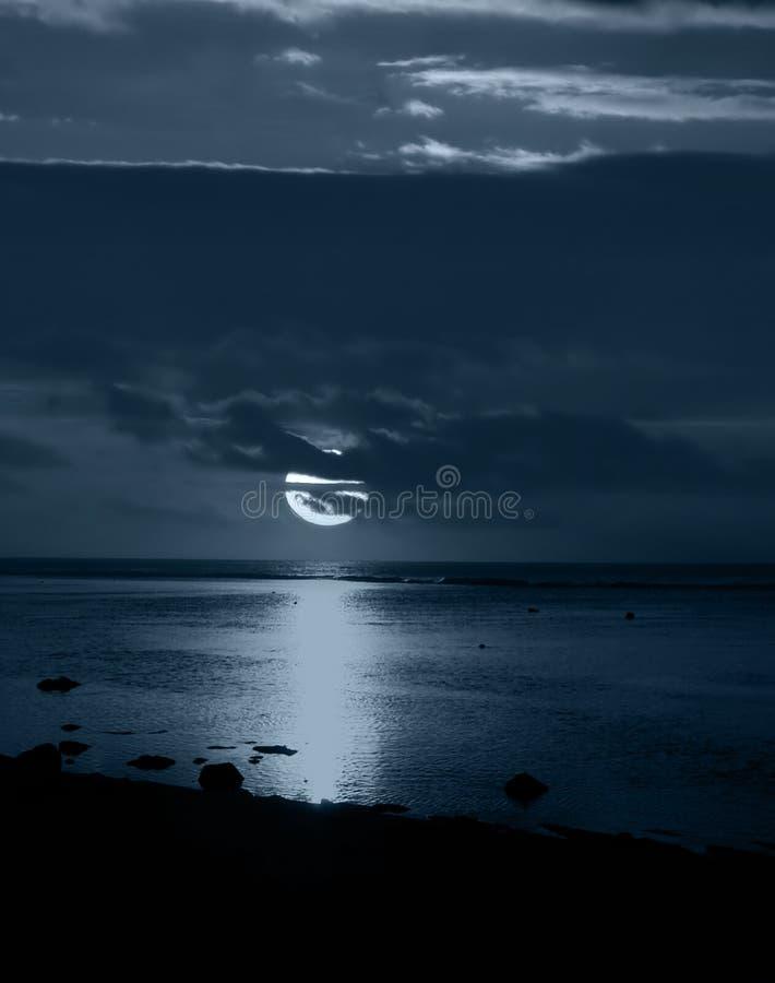 σεληνόφωτο Στοκ φωτογραφία με δικαίωμα ελεύθερης χρήσης