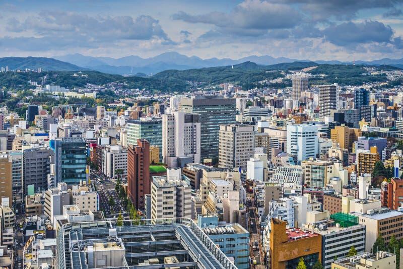 Σεντάι Ιαπωνία στοκ φωτογραφία με δικαίωμα ελεύθερης χρήσης