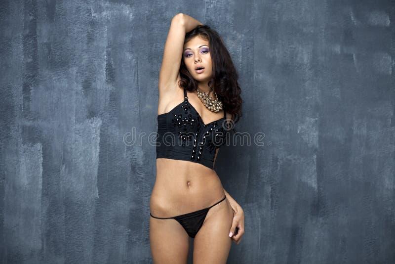 Σεξουαλική νέα γυναίκα στοκ εικόνες